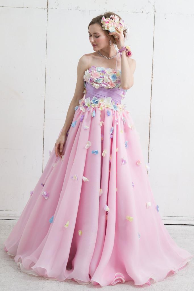 あじさいドレス
