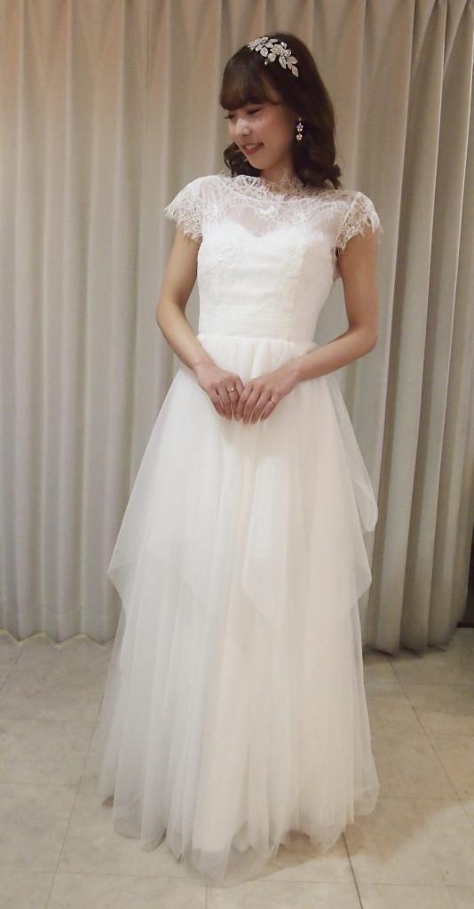 袖付きドレス